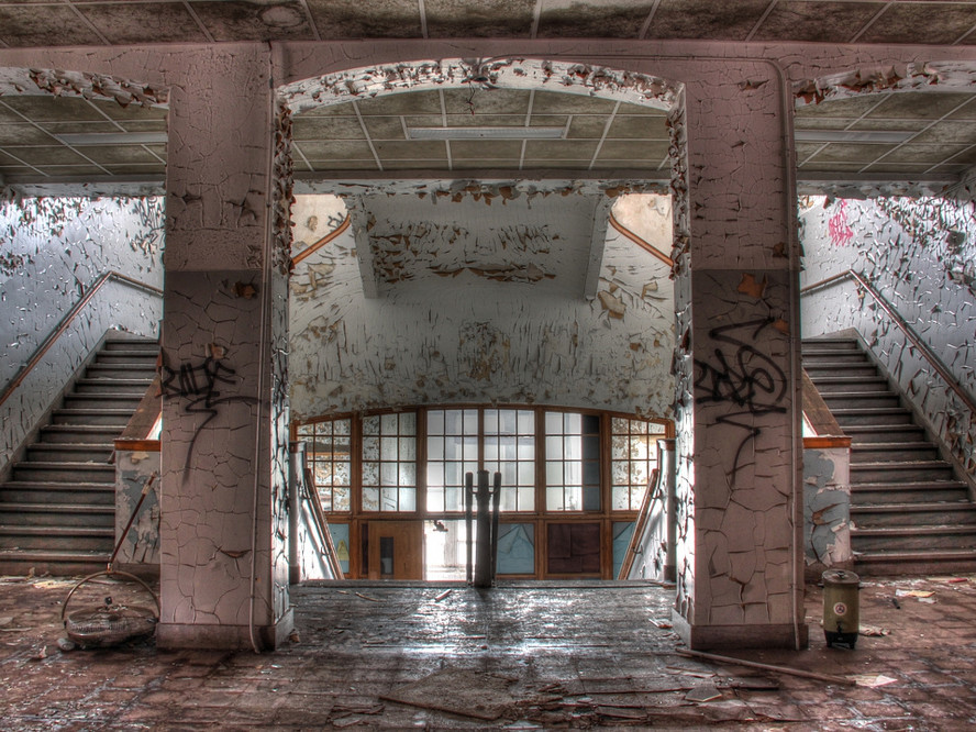 Emerson High School, Gary, Indiana (abandoned)